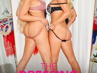 390x590c 398 320x240 - BFFs Katie Morgan and Nina Elle take a trip to the notorious dressing room