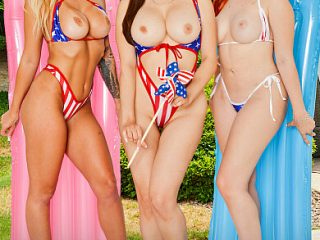 390x590c 48 320x240 - It's a very naughty 4th of July with Madelyn Monroe, Madison Morgan, & Lexi Luna