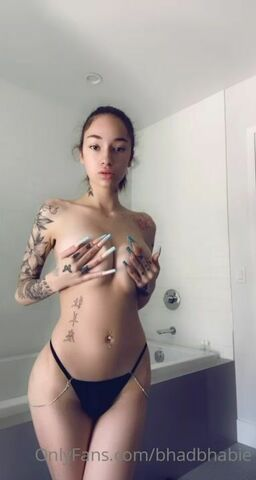 Bhad Bhabie Onlyfans Leaks - Bhad Bhabie Nude Big Tits Topless OnlyFans Leaked Video