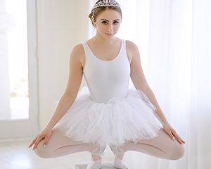 ts exxxtrasmall penelope kay 300x240 - Stretchy Lil Dancer Penelope Kay