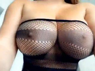Anastasiya Kvitko Nude OnlyFans Big Tits Squeezing