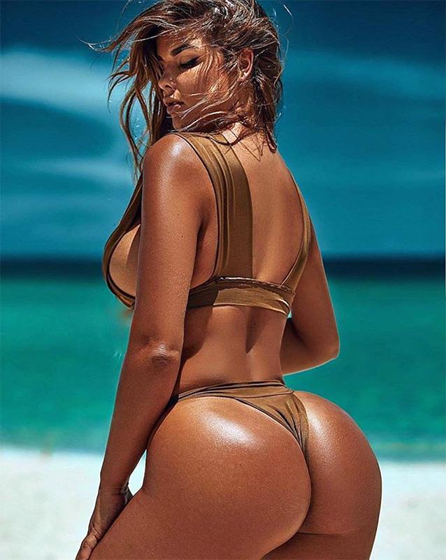 Anastasiya Kvitko Perfect Oiled Ass Bikini Hot Video - Anastasiya Kvitko Nude OnlyFans Big Tits Squeezing