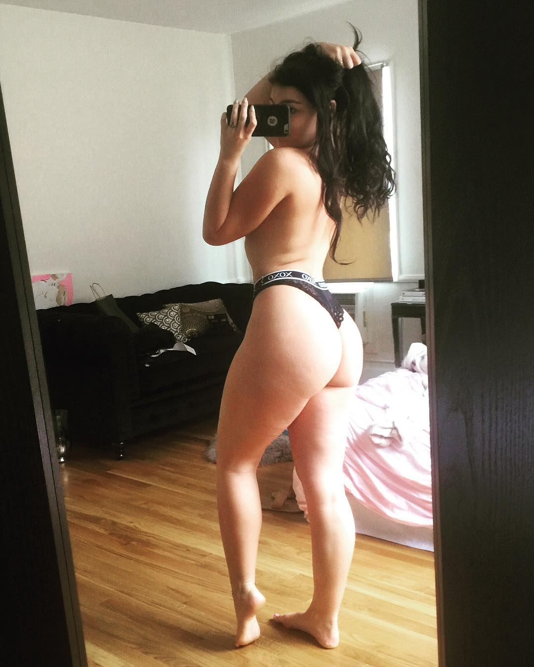 Emily Rinaudo nude topless in sexy thongs onlyfans - Emily Rinaudo Nude OnlyFans Oiled Tits Leaked Video