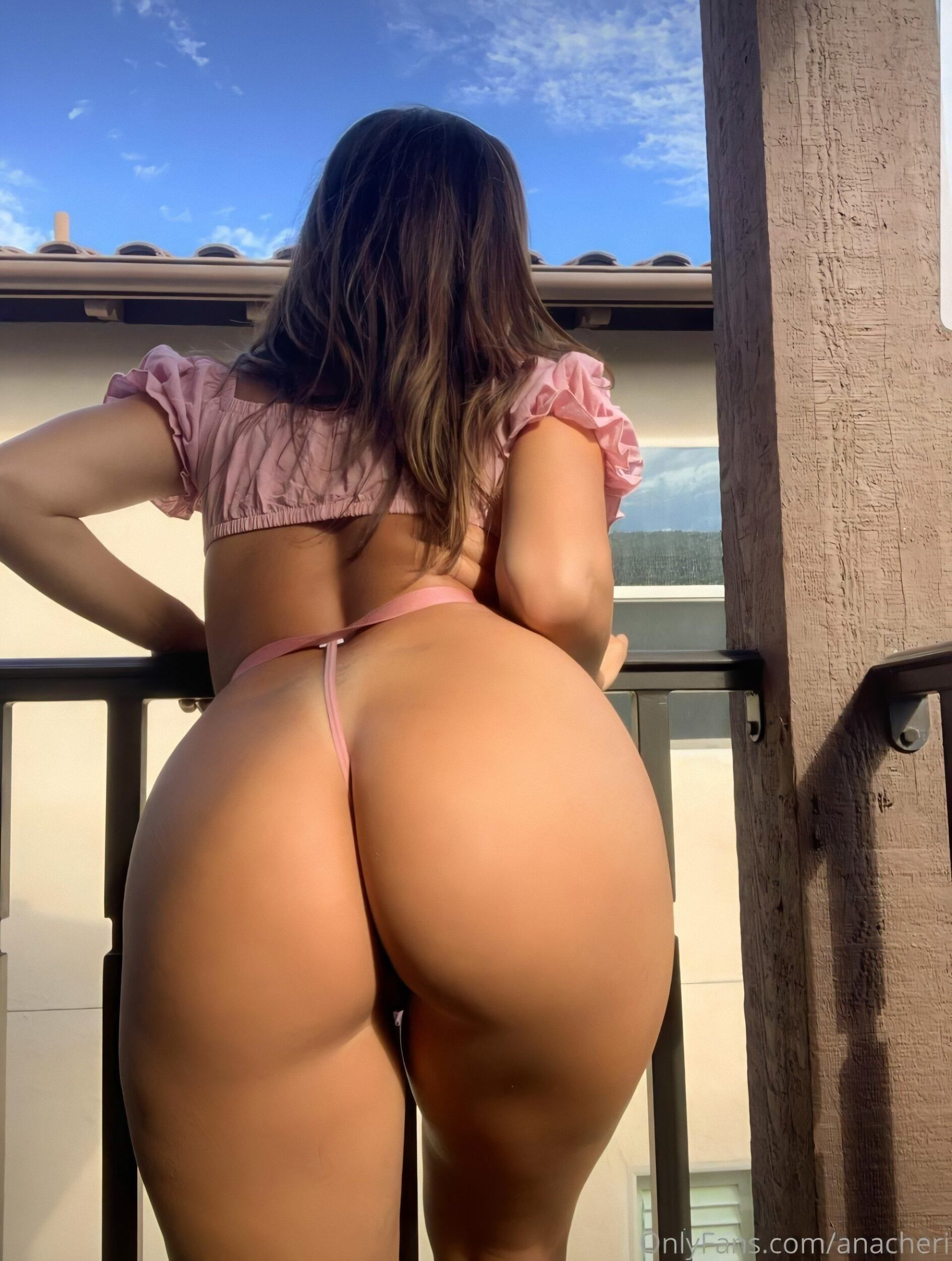 Ana Cheri big ass in thongs bent over - Ana Cheri Nude OnlyFans Leaks Big Tits Hot Ass