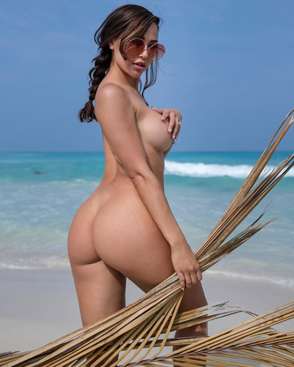Ana Cheri fully naked on the beach - Ana Cheri Nude OnlyFans Leaks Big Tits Hot Ass