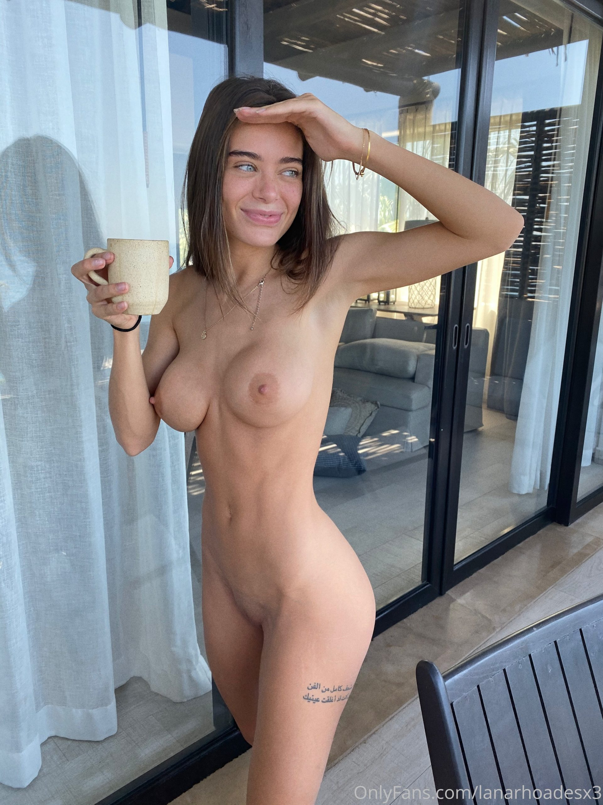Lana Rhoades onlyfans fully naked in the morning scaled - Lana Rhoades OnlyFans Nude Porn Videos
